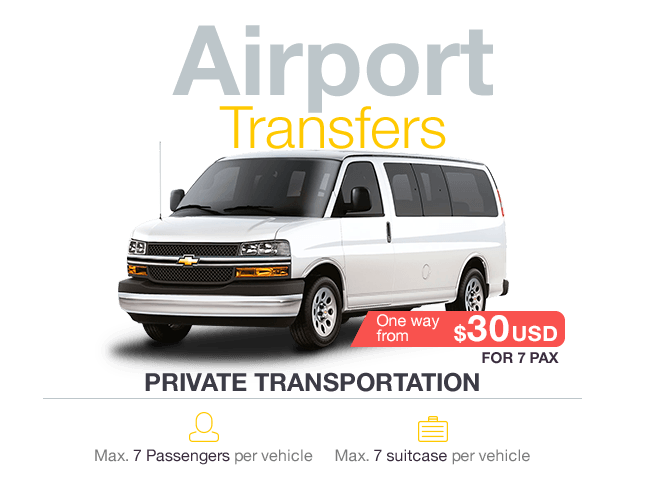 Private Transportation in Cancun Airport