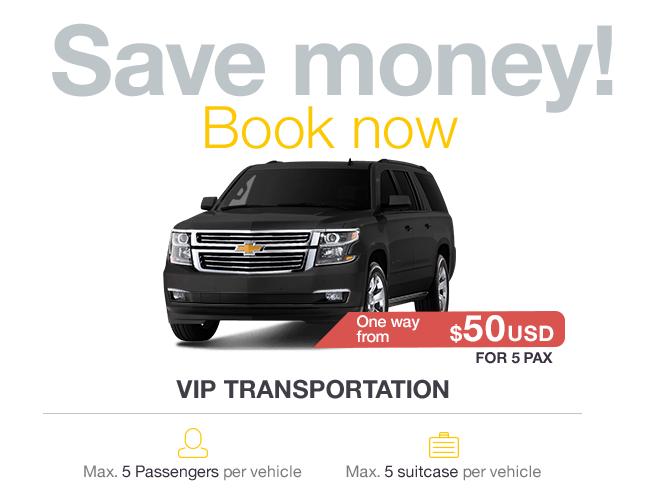 Cancun VIP Transportation with Great Comfort